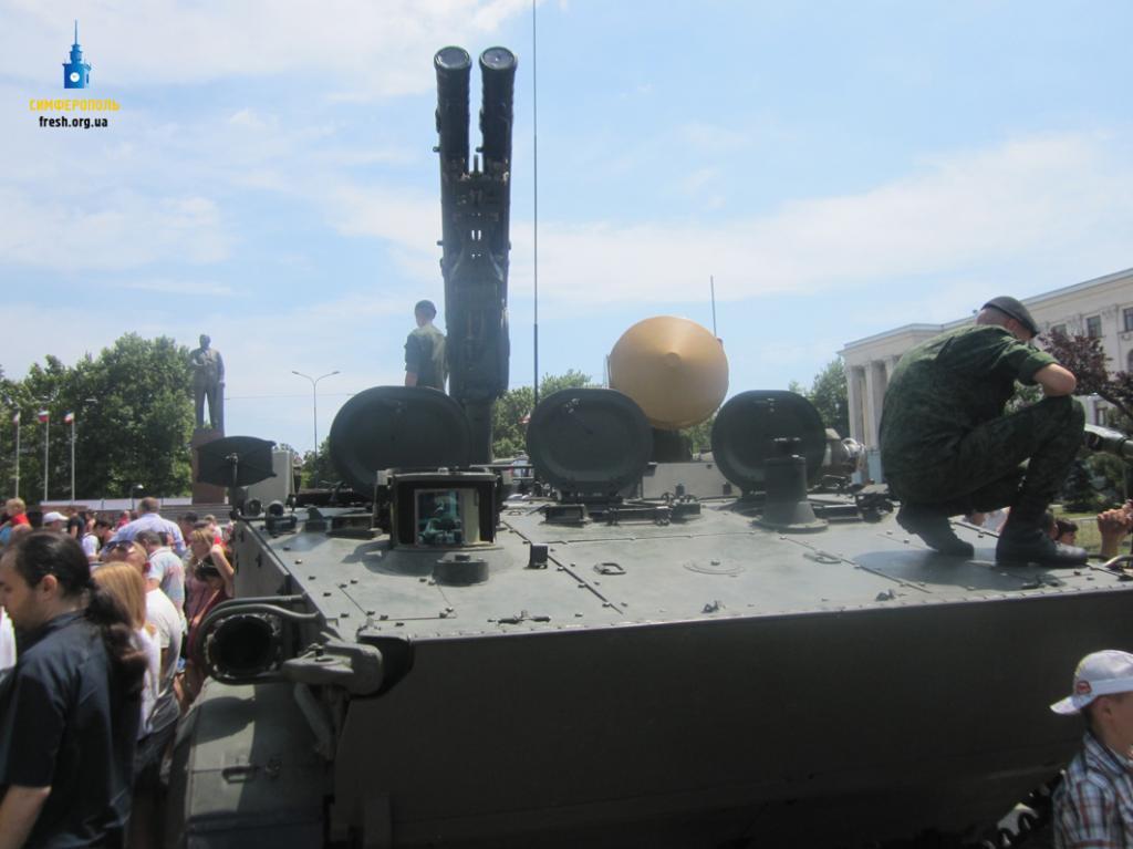 9мая вСимферополе впервый раз пройдет военный парад
