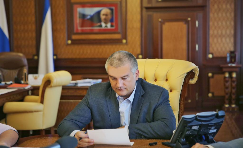 Аксенов прокомментировал задержание главы города Красноперекопска