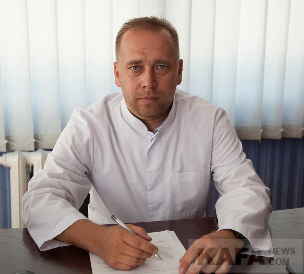 Главный врач Феодосийской детской больницы Эдуард Григорьевич Пянковский рассказал газете