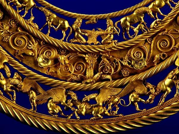 Крым лишили скифского золота