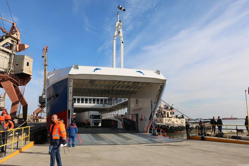 Порт «Камыш-Бурун» вКерчи будет новым маршрутом для большегрузов