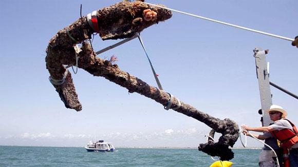 В Крыму у Аю-Дага нашли якоря древних кораблей. КрымФАН