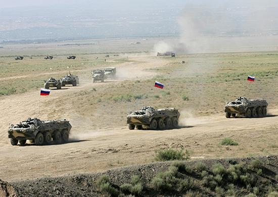 Российская Федерация начала военные учения вакватории Черного моря