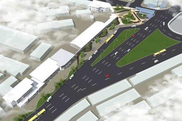 Расширение дороги перед основным рынком Симферополя обойдется в80 млн