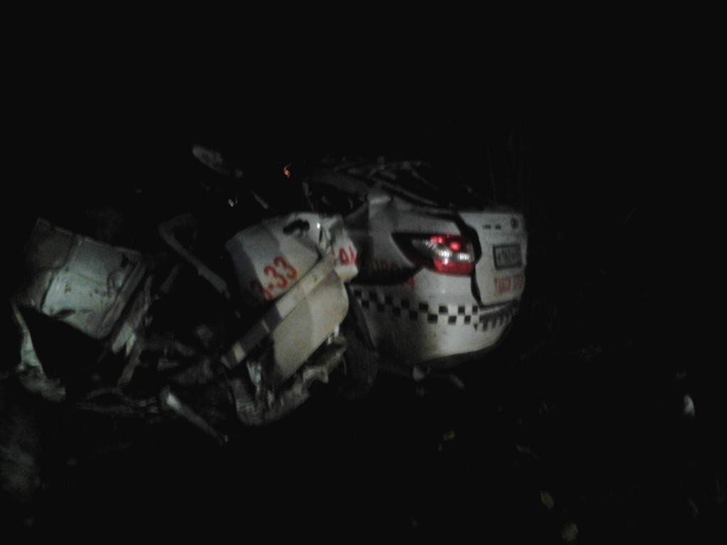 ДТП наЕвпаторийском шоссе, ночь на18ноября. шофёр погиб…