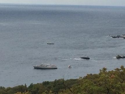 ВЯлте из-за плохой погоды намель села яхта «Аурелия»