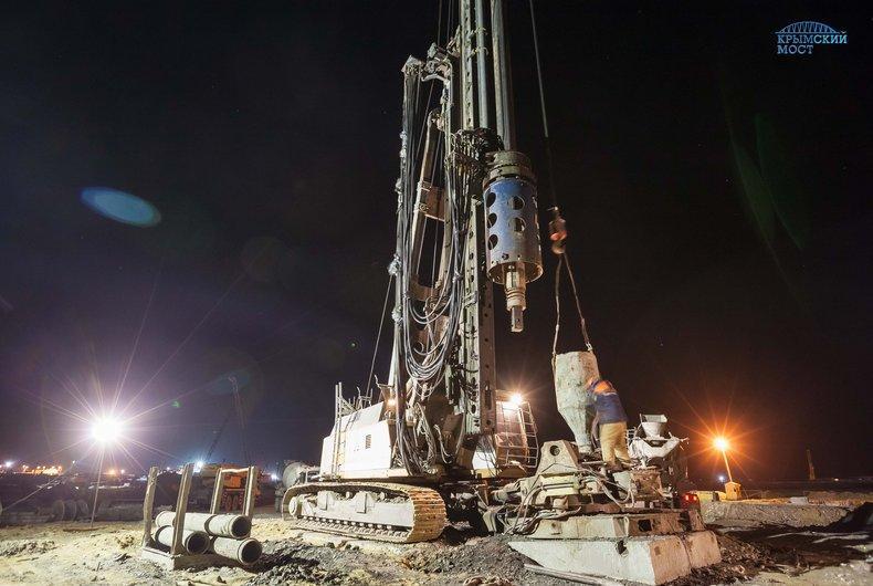 Завершён очередной этап возведения Крымского моста
