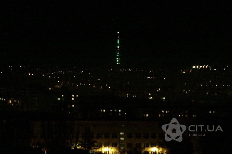 Телевышка в Симферополе будет светиться по ночам