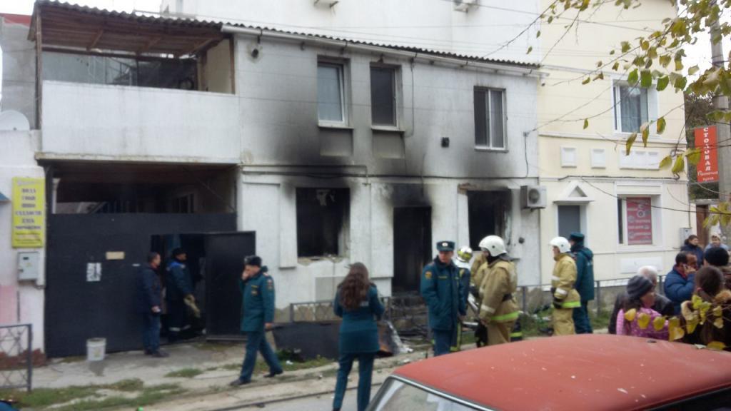 МЧС: Пожар вгороде Евпатория удачно ликвидирован