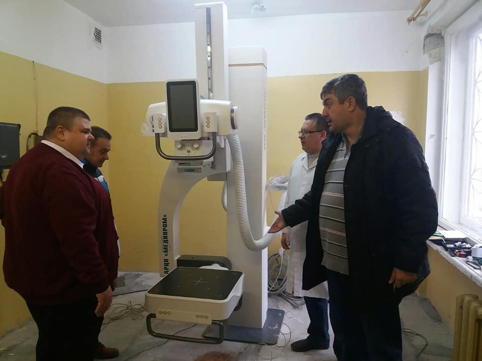 6 января в Феодосийской городской поликлинике состоялась установка нового рентген-аппарата.