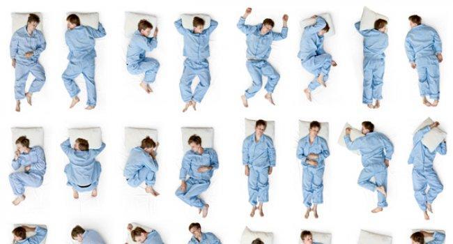 В каких позах опасно спать?