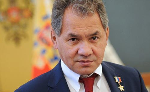 Шойгу вручил крымским морпехам Орден Жукова