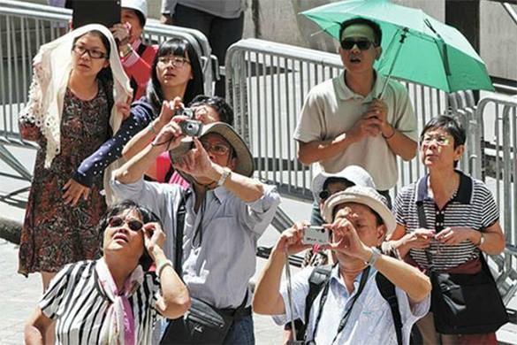 Китайские туристы начали посещение Крыма