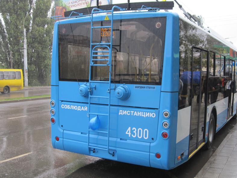 В Симферополе из-за энергомоста отменяют троллейбусы минимум до конца апреля