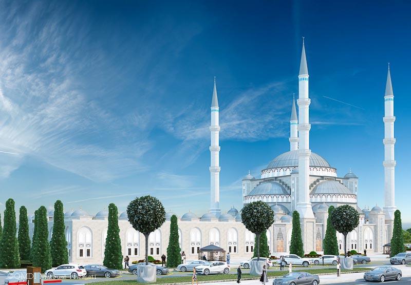 Симферополе появится новая Соборная мечеть