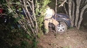 ДТП в Крыму: в горах опрокинулась «Нива», пострадали два человека