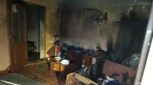 В Крыму на пожаре сгорела семья с двумя детьми