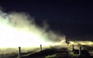 В Крыму танкисты провели ночные стрельбы