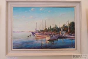 В музее Грина «Мой Крым» Александра Мельника