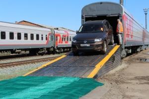 В поездах в Крым появятся вагоны-автомобилевозы