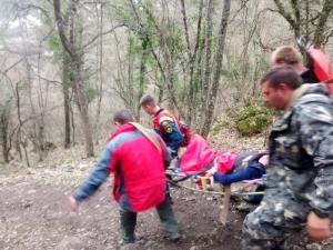 Вчера вечером туристка получила травмы в пещерном городе Магуп-Кале